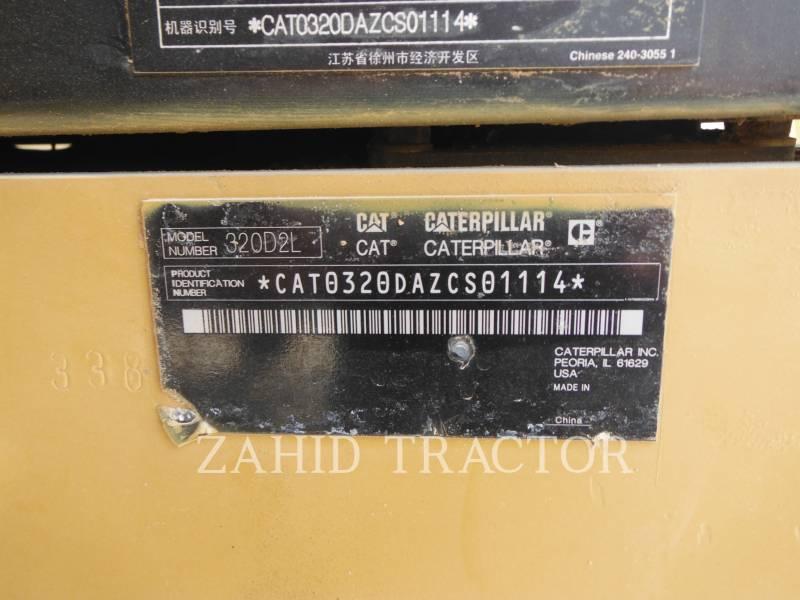 CATERPILLAR KOPARKI GĄSIENICOWE 320D2L equipment  photo 8
