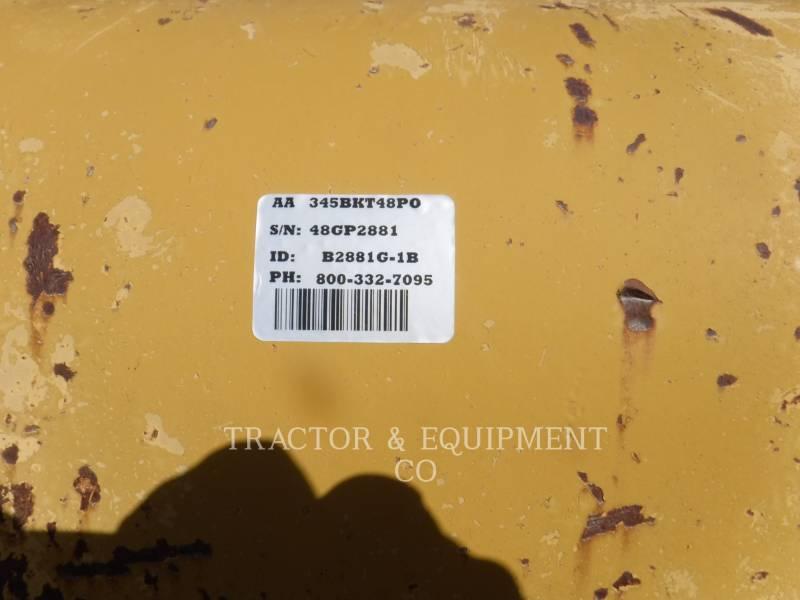CATERPILLAR WT - BUCKET 345BKT48PO equipment  photo 3
