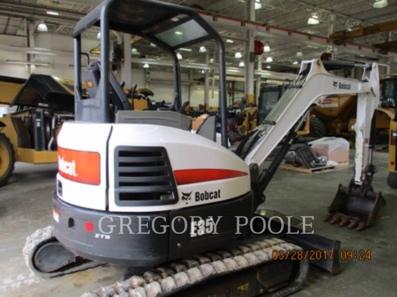 BOBCAT TRACK EXCAVATORS E35 equipment  photo 3