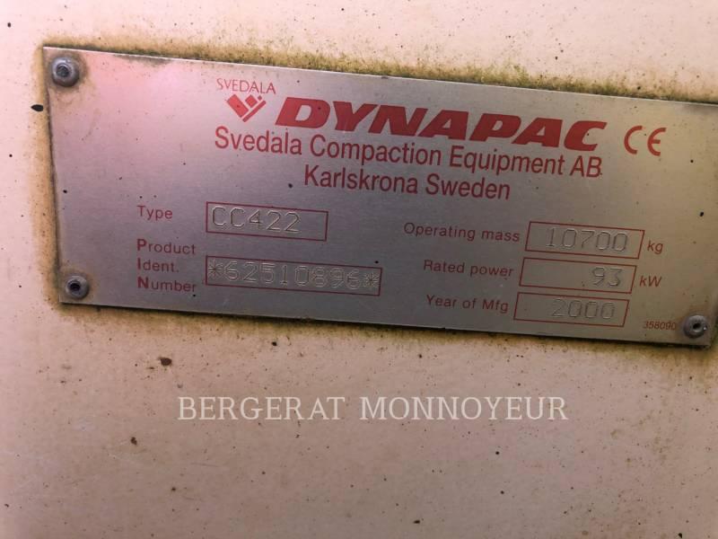 DYNAPAC COMPACTORS CC422 equipment  photo 7