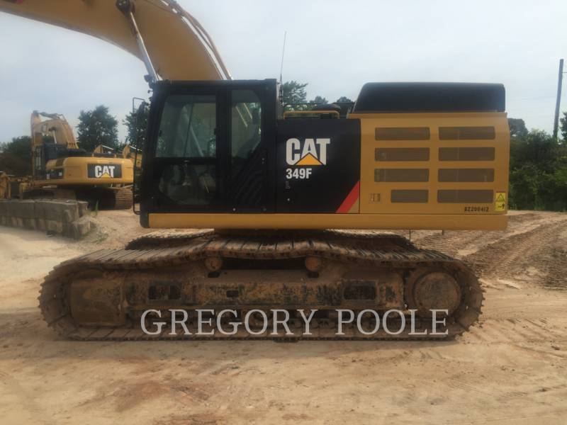 CATERPILLAR TRACK EXCAVATORS 349F L equipment  photo 9