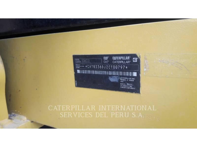 CATERPILLAR PELLES SUR CHAINES 336D2L equipment  photo 6