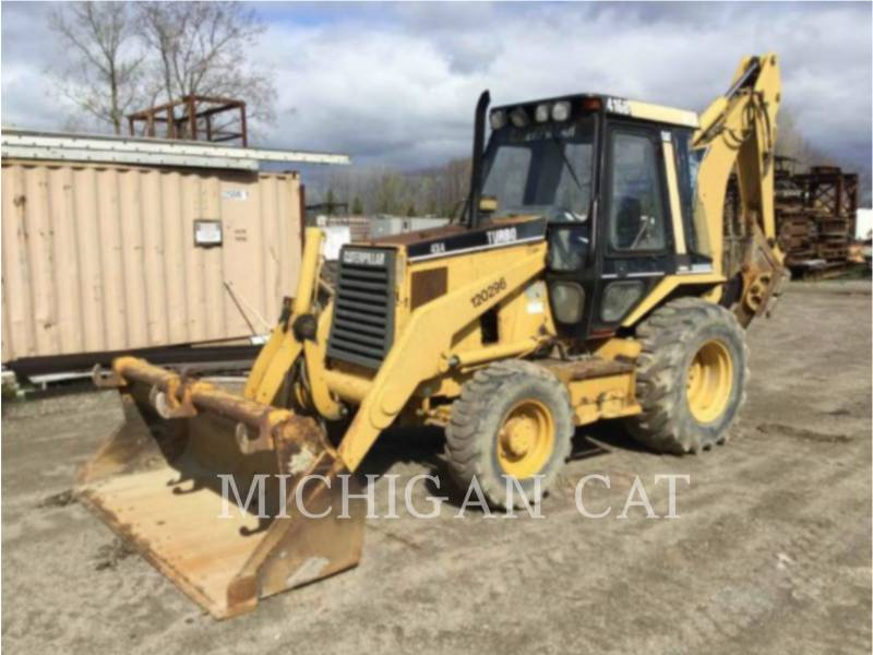 CATERPILLAR RETROEXCAVADORAS CARGADORAS 416B C equipment  photo 1