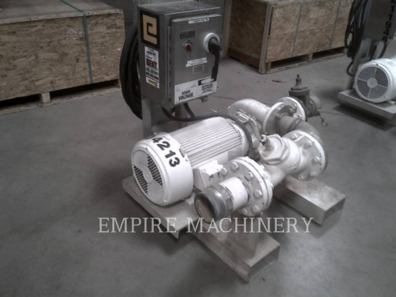 MISC - ENG DIVISION HVAC: HEATING, VENTILATION, AND AIR CONDITIONING (OBS) PUMP 25HP equipment  photo 3