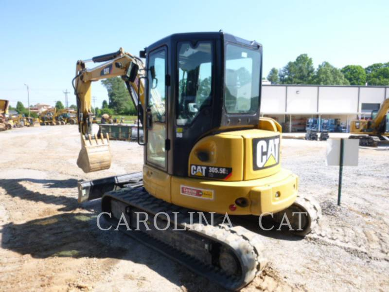 CATERPILLAR TRACK EXCAVATORS 305.5E2CBT equipment  photo 5