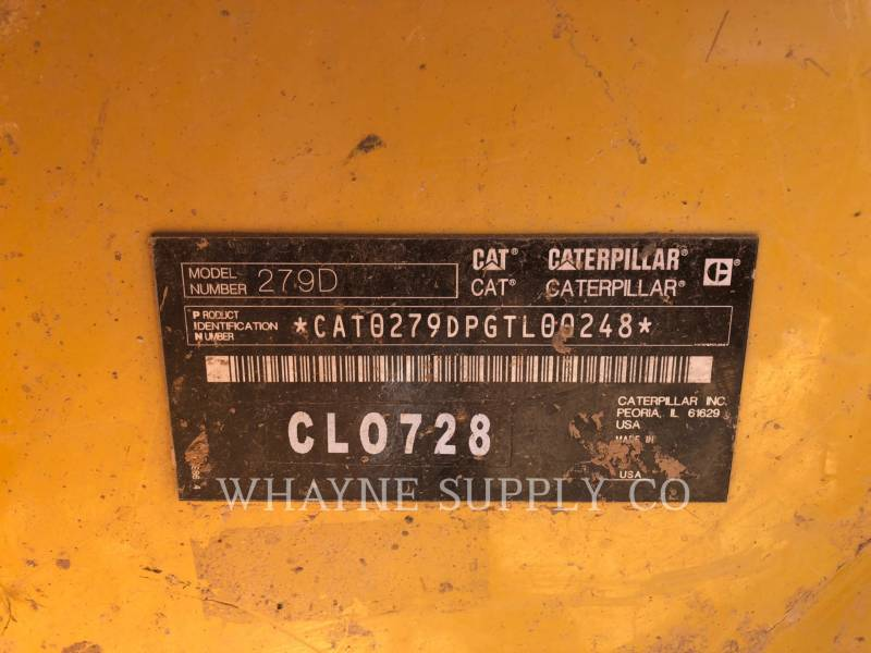 CATERPILLAR DELTALADER 279D equipment  photo 6