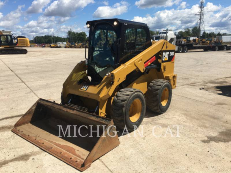 CATERPILLAR SKID STEER LOADERS 246D A2Q equipment  photo 1