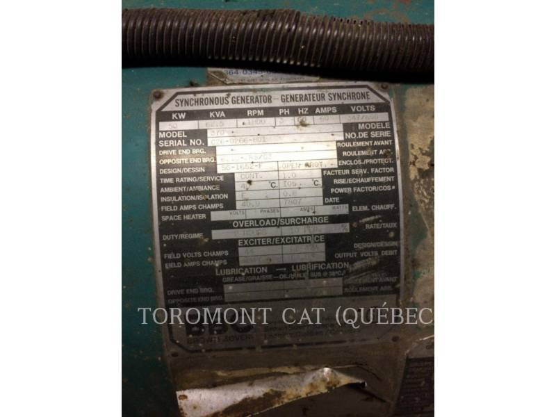 FORD STATIONARY GENERATOR SETS 380 DFO-6005E-SOC 30 equipment  photo 4