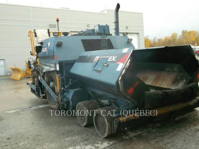 TEREX EQUIP. LTD. PAVIMENTADORA DE ASFALTO CR552 equipment  photo 3