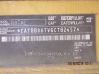 CATERPILLAR TRATTORI CINGOLATI D 6 T XL equipment  photo 6