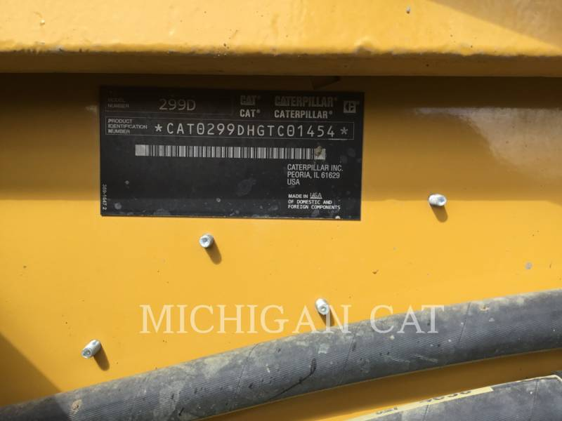 CATERPILLAR CARGADORES MULTITERRENO 299D equipment  photo 20