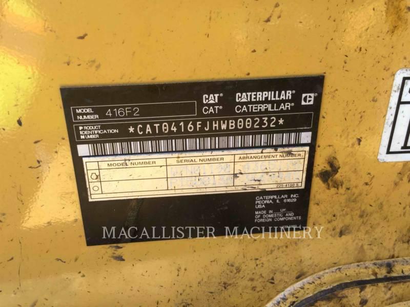 CATERPILLAR BACKHOE LOADERS 416F2ST equipment  photo 5