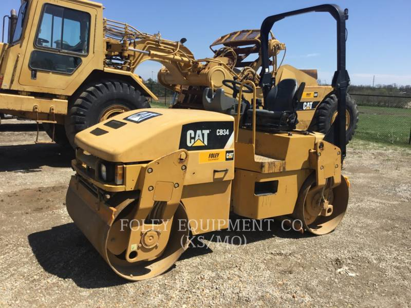 CATERPILLAR TAMBOR DOBLE VIBRATORIO ASFALTO CB34 equipment  photo 1
