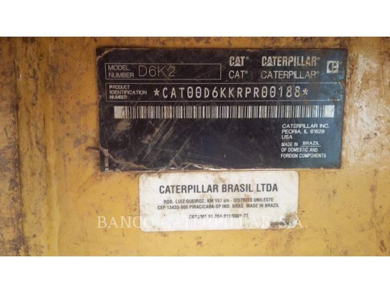 CATERPILLAR TRACTORES DE CADENAS D6K2 equipment  photo 14