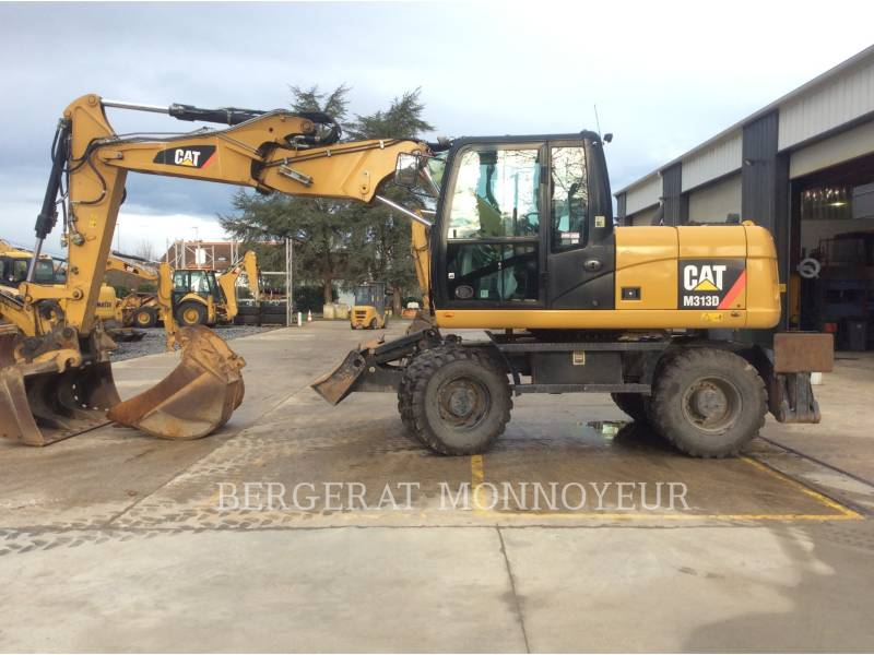 CATERPILLAR PELLES SUR PNEUS M313D equipment  photo 7