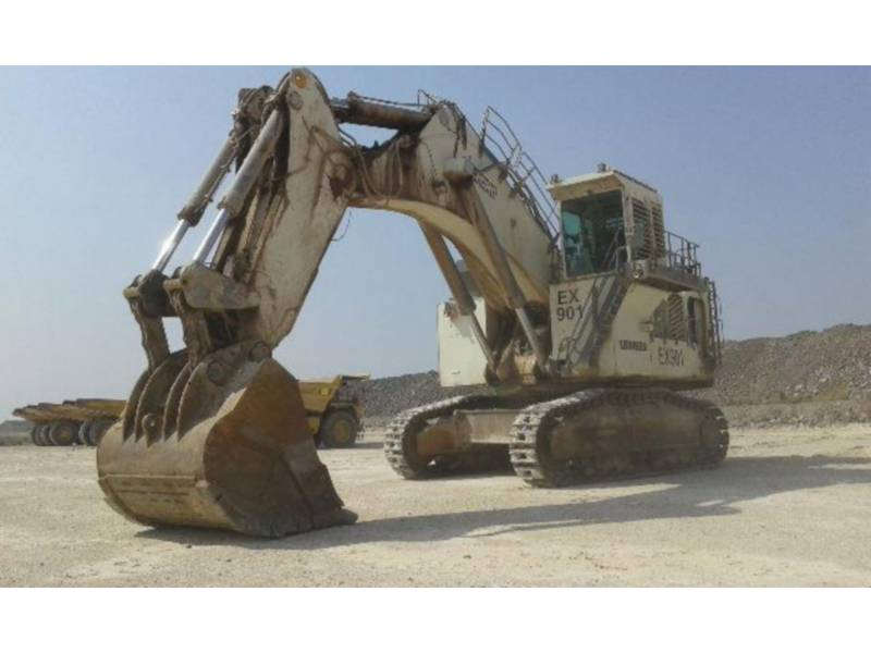 LIEBHERR EXCAVADORAS DE CADENAS R 9350 LITRONIC equipment  photo 1