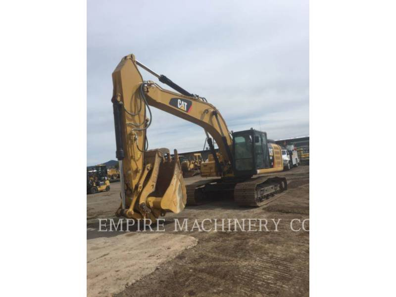 CATERPILLAR KETTEN-HYDRAULIKBAGGER 330FL TH P equipment  photo 1