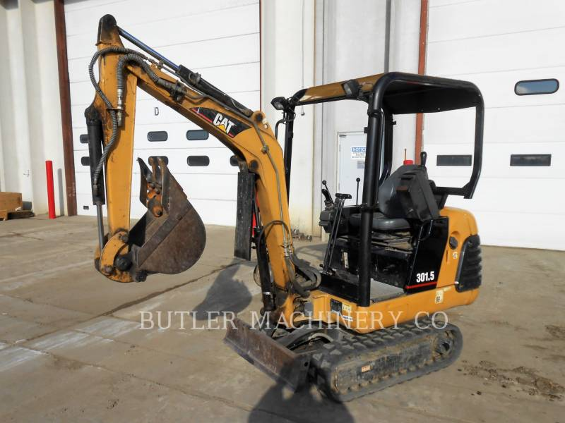 CATERPILLAR TRACK EXCAVATORS 301.5 equipment  photo 1