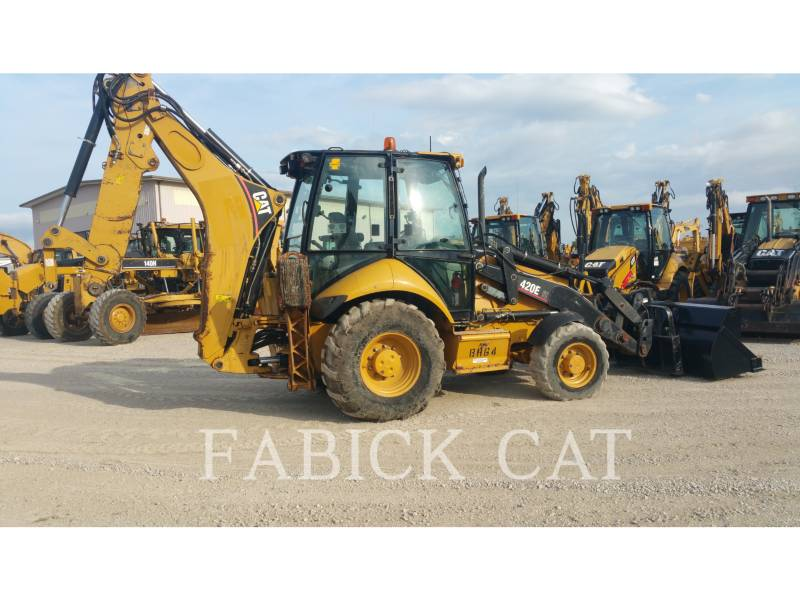 CATERPILLAR BACKHOE LOADERS 420E IT equipment  photo 4