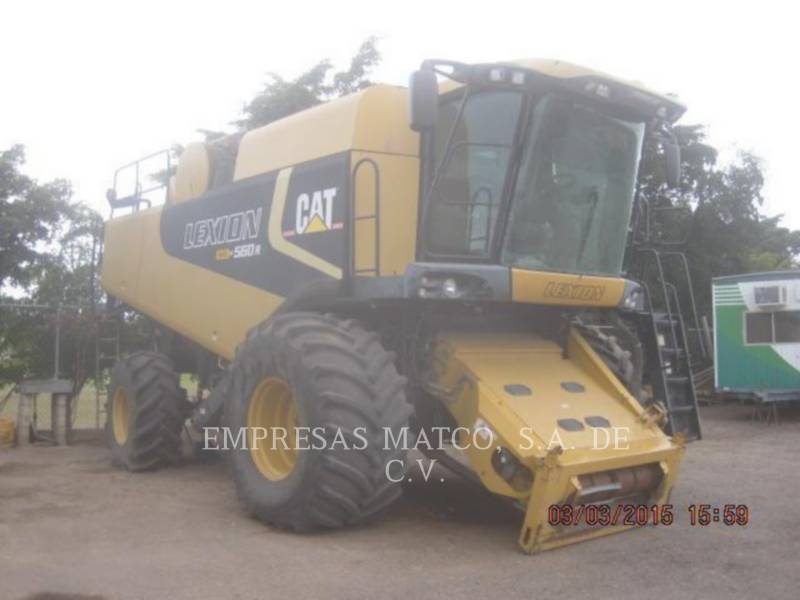 LEXION COMBINE COMBINADOS 560R equipment  photo 3
