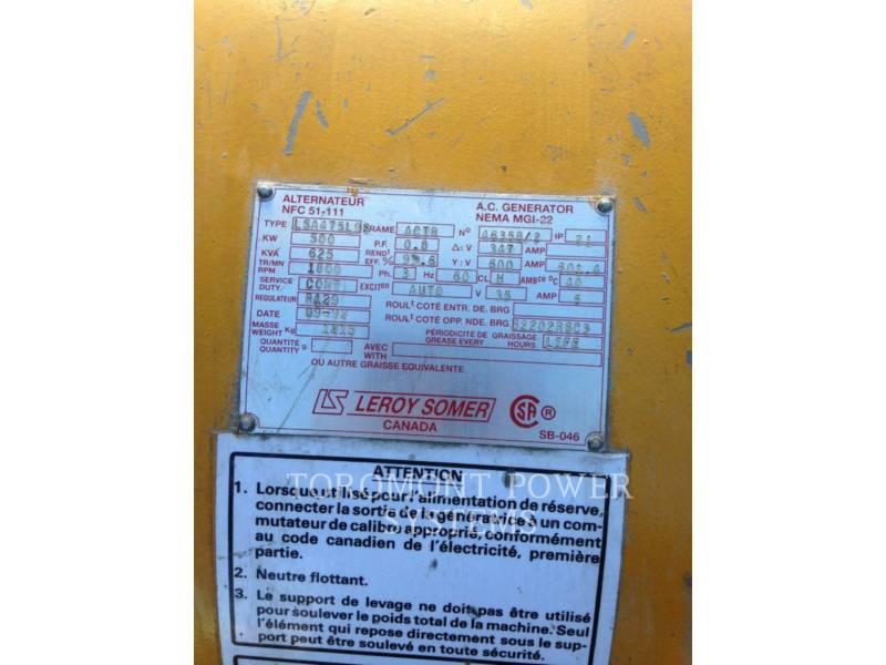 LEROY SOMER SYSTEMBAUTEILE LSA475198, 500KW 600V equipment  photo 2