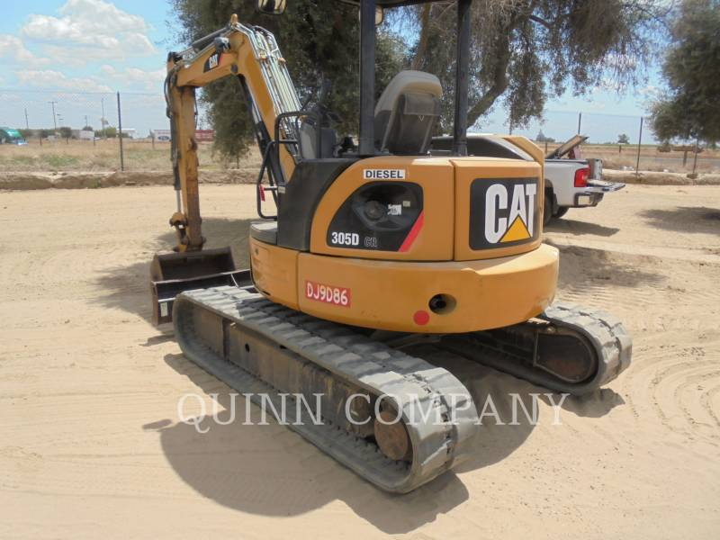 CATERPILLAR EXCAVADORAS DE CADENAS 305D CR equipment  photo 5