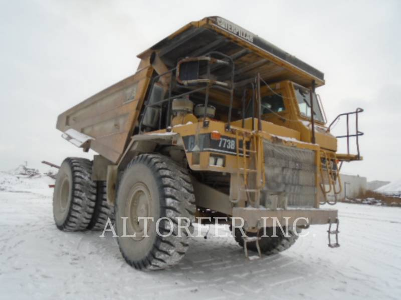 CATERPILLAR ARTICULATED TRUCKS 773B equipment  photo 2