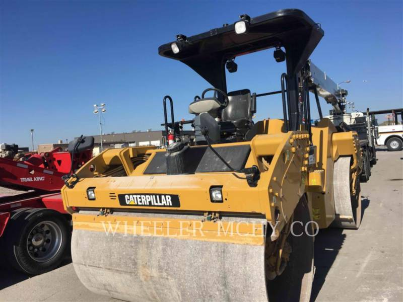 CATERPILLAR COMPATTATORE PER ASFALTO A DOPPIO TAMBURO VIBRANTE CB64 equipment  photo 1
