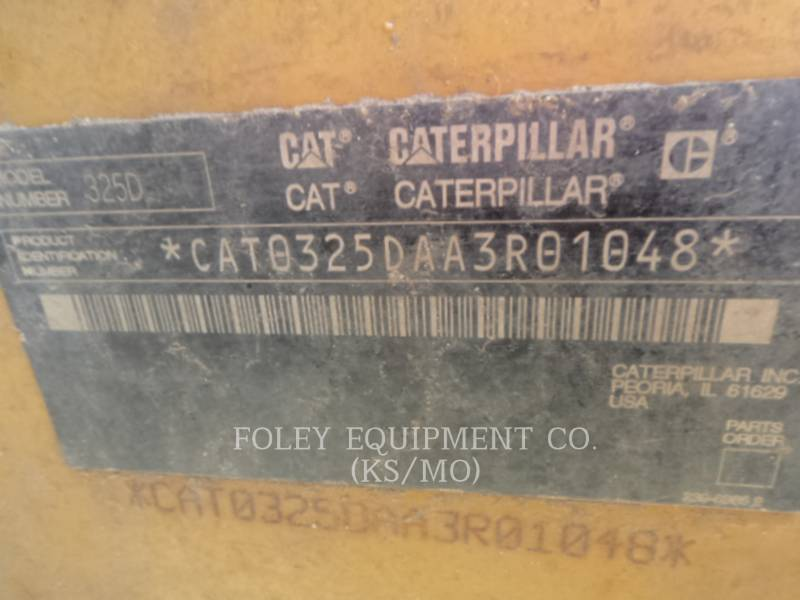 CATERPILLAR EXCAVADORAS DE CADENAS 325DL equipment  photo 5