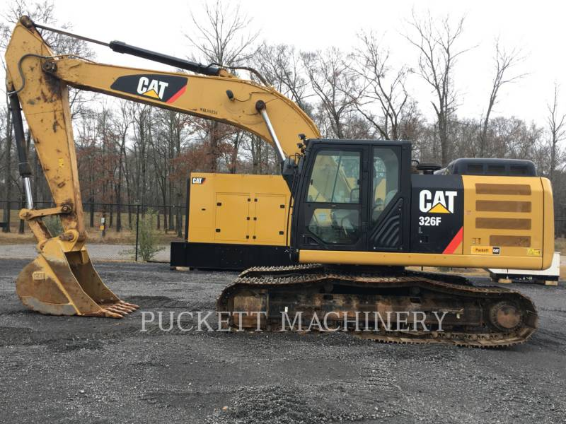 CATERPILLAR TRACK EXCAVATORS 326F equipment  photo 1