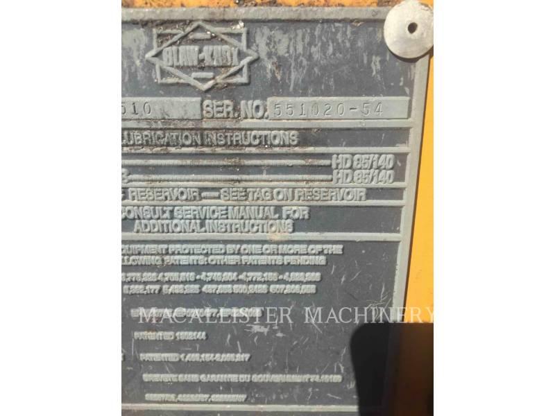 BLAW KNOX / INGERSOLL-RAND ASPHALT PAVERS PF5510 equipment  photo 3