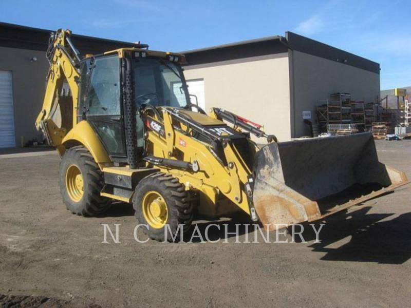 CATERPILLAR BACKHOE LOADERS 420F 4ETCB equipment  photo 2