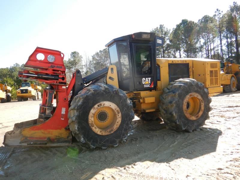 CATERPILLAR FORESTRY - FELLER BUNCHERS - WHEEL 553C equipment  photo 1