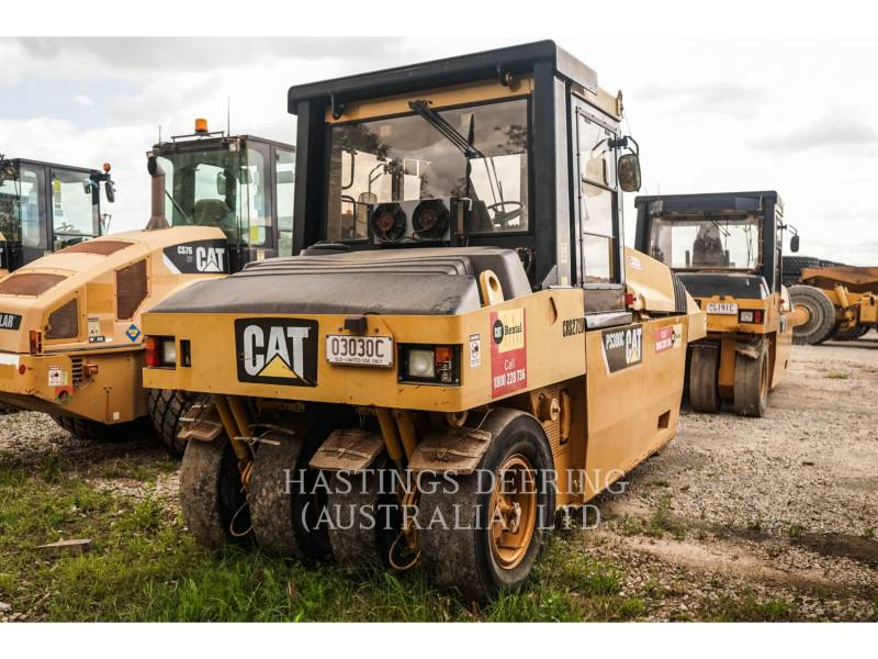 CATERPILLAR PNEUMATIC TIRED COMPACTORS PS-300C equipment  photo 4