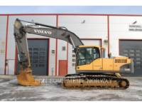 Equipment photo VOLVO EC240NC EXCAVATOARE PE ŞENILE 1