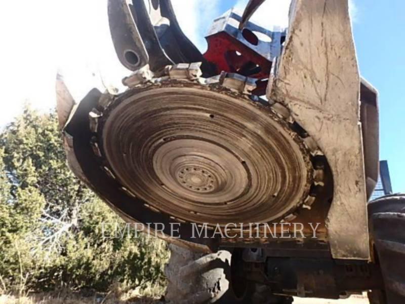 CATERPILLAR EXPLOITATION FORESTIÈRE - ABATTEUSES-GROUPEUSES - SUR PNEUS 563C equipment  photo 3