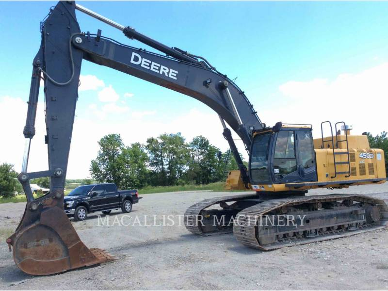 JOHN DEERE PELLES SUR CHAINES 450D LC equipment  photo 2
