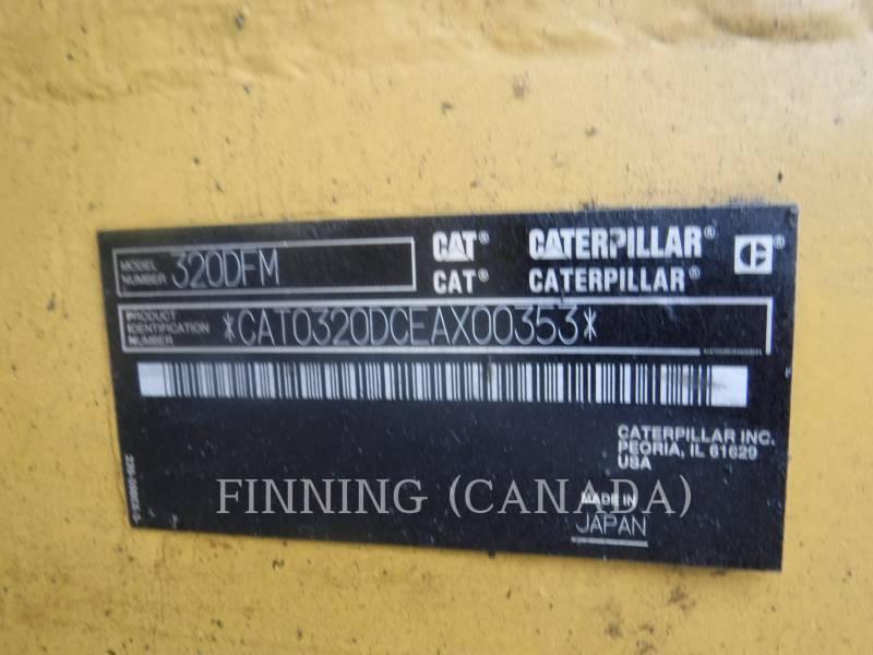 CATERPILLAR BERGBAU-HYDRAULIKBAGGER 320DFMHW equipment  photo 15