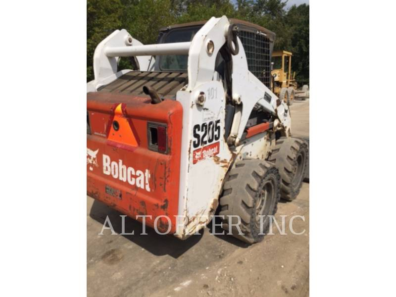 BOBCAT MINICARGADORAS S205 equipment  photo 4