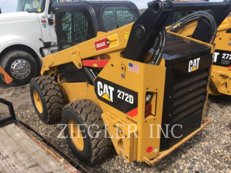 CATERPILLAR MINICARGADORAS 272DSR equipment  photo 2