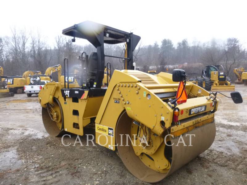 CATERPILLAR TAMBOR DOBLE VIBRATORIO ASFALTO CB54 equipment  photo 2