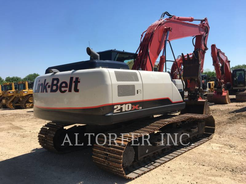 LINK-BELT CONSTRUCTION TRACK EXCAVATORS 210X3 equipment  photo 3