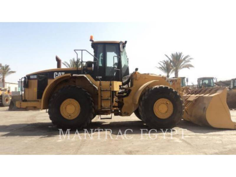CATERPILLAR CARGADORES DE RUEDAS 980GII equipment  photo 3