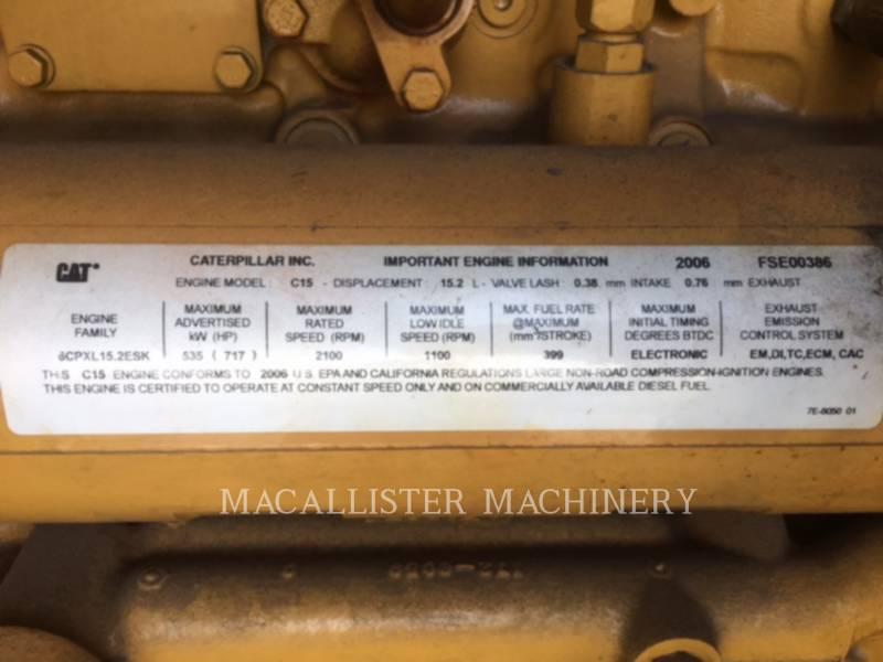 CATERPILLAR STATIONARY GENERATOR SETS C15 equipment  photo 9