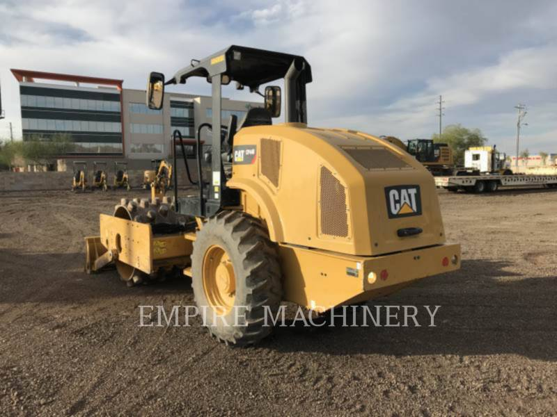 CATERPILLAR VIBRATORY SINGLE DRUM PAD CP44B equipment  photo 3