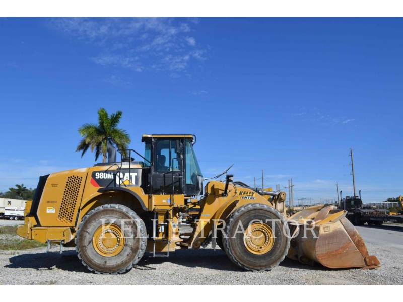 CATERPILLAR RADLADER/INDUSTRIE-RADLADER 980M equipment  photo 2