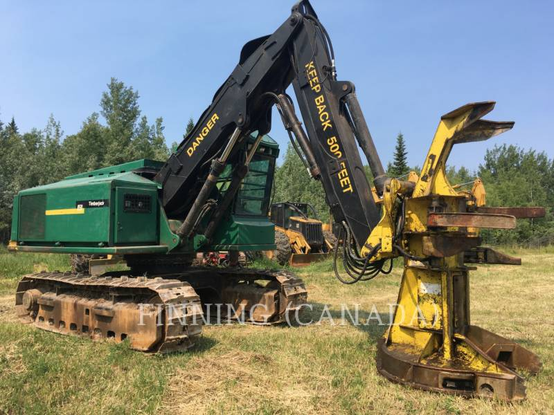 TIMBERJACK INC. FORESTRY - FELLER BUNCHERS - TRACK 850 equipment  photo 2