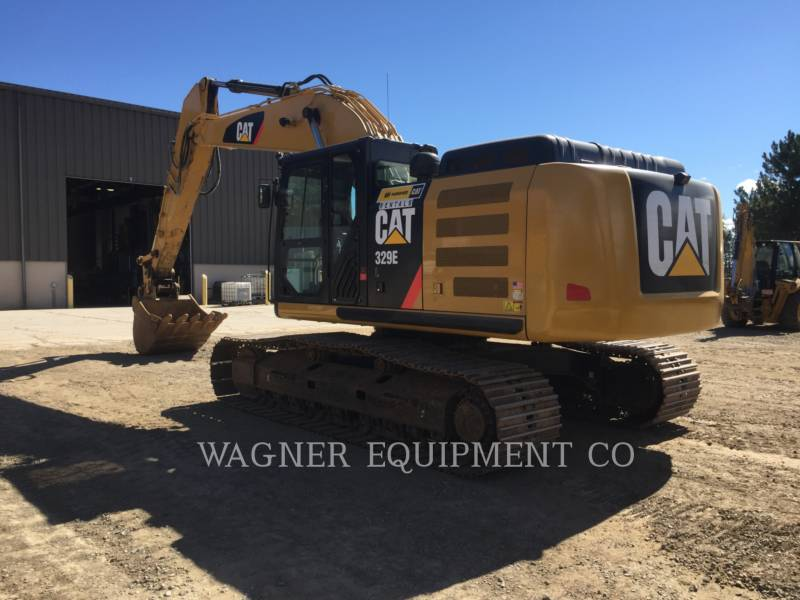 CATERPILLAR TRACK EXCAVATORS 329EL TC equipment  photo 4