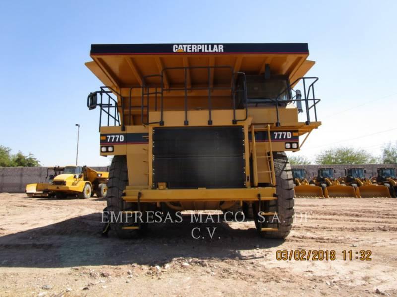CATERPILLAR MINING OFF HIGHWAY TRUCK 777D equipment  photo 2