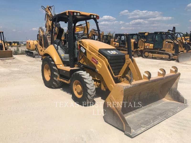 CATERPILLAR RETROEXCAVADORAS CARGADORAS 420 F equipment  photo 2